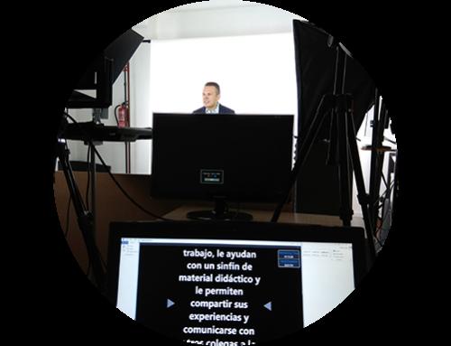 Producción de contenido audiovisual de cursos online para una Universidad