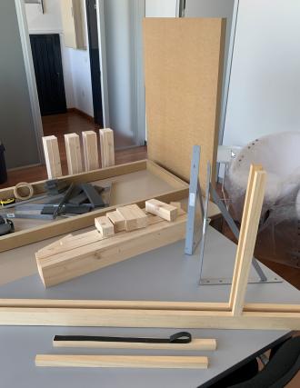Materiales para la construcción de nuestra LightBoard