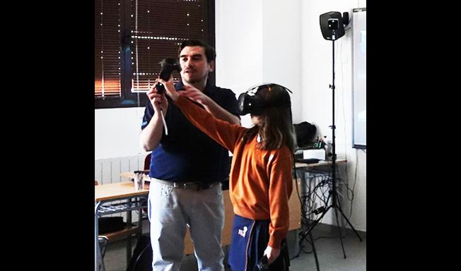 Taller de Realidad Virtual en Colegios