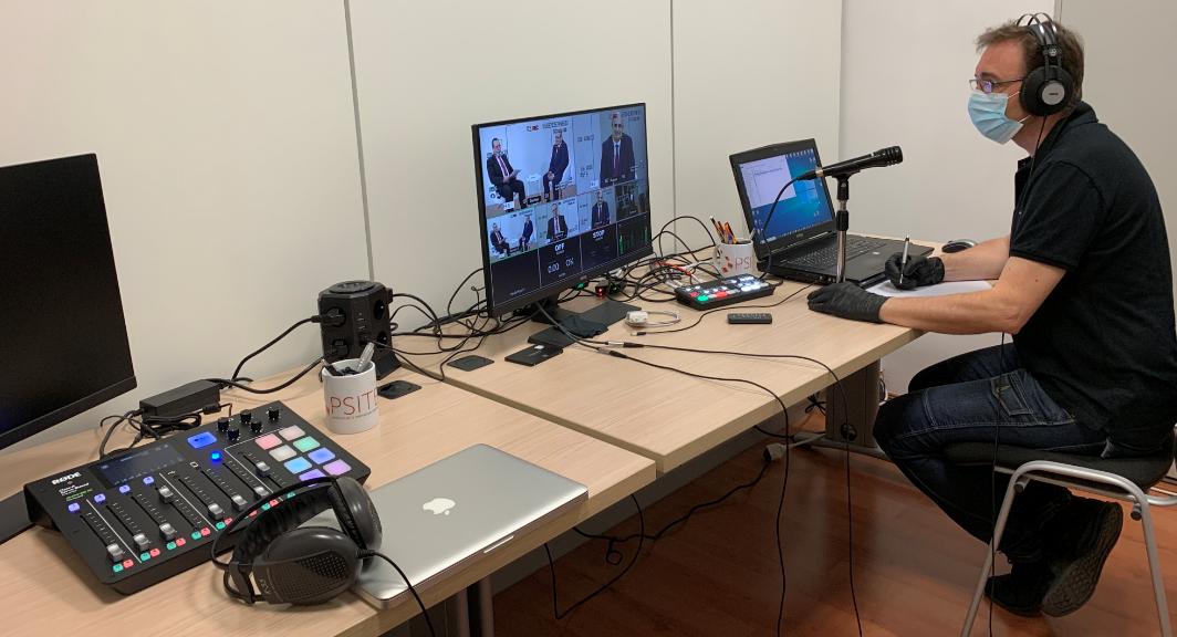 Nueva sala de control y grabación